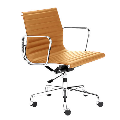 OFFICE CHAIR NO. 1 - Siena Edition cognac leather