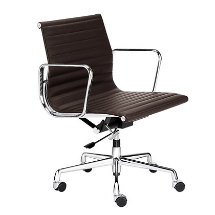 OFFICE CHAIR NO. 1 brown leather