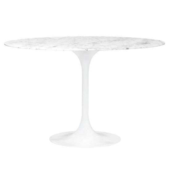TULIP TABLE, Marble 90cm
