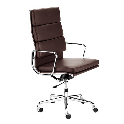 OFFICE CHAIR NO. 3 - Siena Edition brown leather