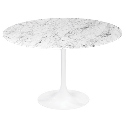 TULIP TABLE, MARBLE