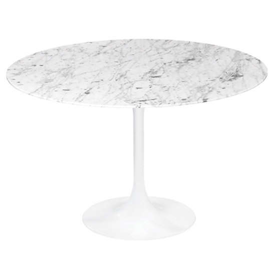 TULIP TABLE, MARBLE