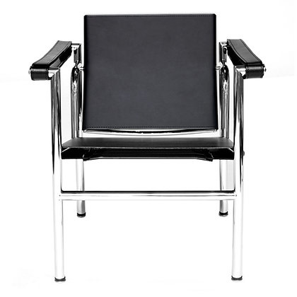 LC1 BASCULANT EASY CHAIR, LEATHER