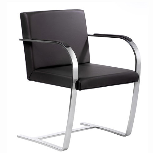 BRNO CHAIR, FLAT STEEL
