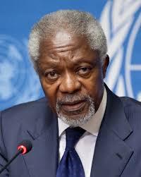 Kofi Annan. Wikimedia commons
