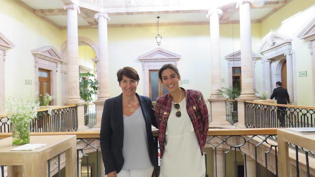 Madame Anne Grillo et Madame Paula Forteza ©Masiosarey, 2017