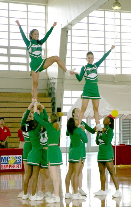 Cheerleaders. Wikimedia Commons