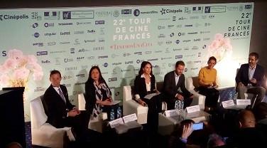 La conférence de presse, organisée par l'Ambassade de France, CinePolis, la Fédération des Alliances françaises, l'Instituto Mexicano de Cinematografía (IMCINE) et Nueva Era Films