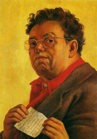 Flickr. Diego Rivera. Self-Portrait Dedicated to Irene Rich. / Autorretrato dedicado a Irene Rich, 1941. Smith College Museum of Art, Northampton, MA, USA. Photo Joaquín Martínez