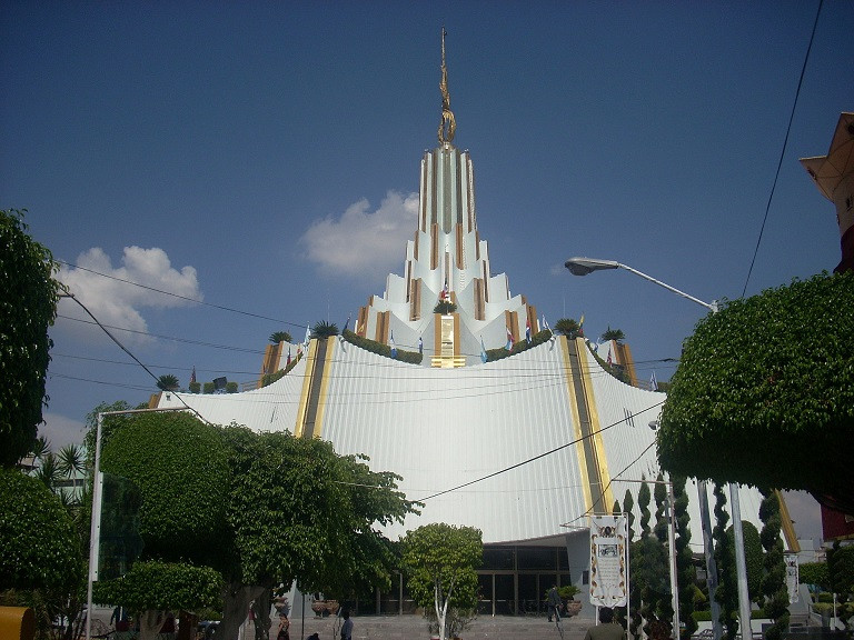 Temple et siège international de La Luz del Mundo, Hermosa Provincia, Guadalajara. Wikipedia