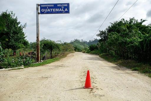 Frontera entre México y Guatemala. Cerca de la Tecnica. Wikimedia Commons