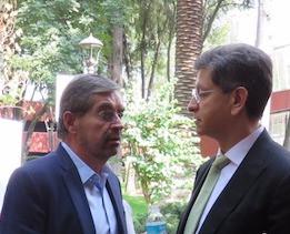 Juan Ramón de la Fuente et le Dr. Kuri ,©Masiosarey, 2017