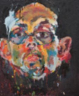 Portrait sur commande de l'artiste peintre Paul Leroux