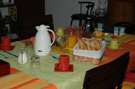 petit déjeuner gratuit