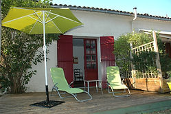 terrasse parasols