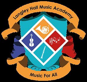 Langley Hall Music Academy Crest Logo.pn