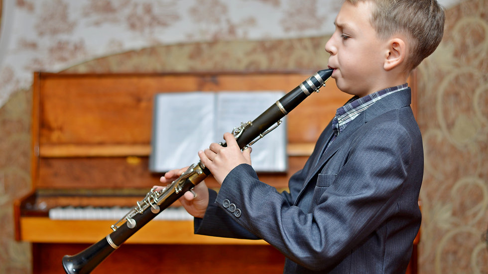 CLARINET individual 10 x 1 hour lesson - for students Grade 4 and above only