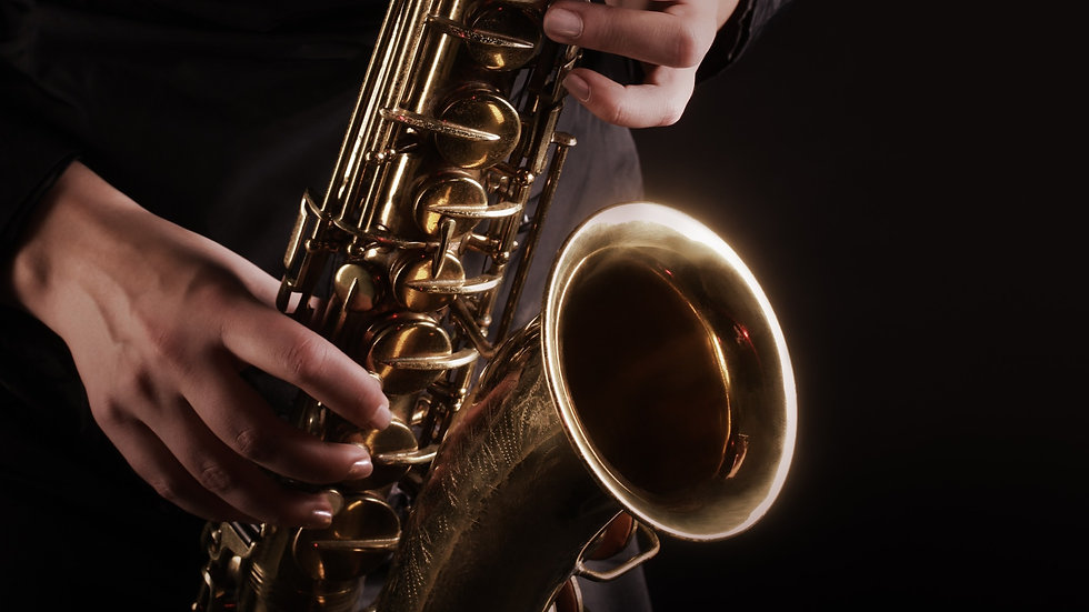 SAXOPHONE individual 10 x 30 min lessons - open to all levels