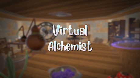 virtual alchemist title screen