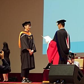 2018 Dong Woo graduate