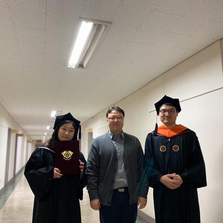 2020 Kyu Hwan, Ha Eun Graduate