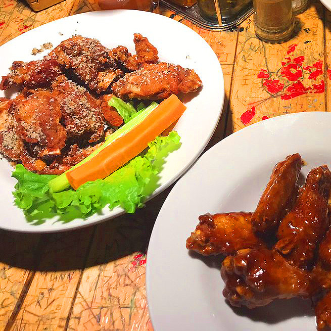 Salt & Pepper Ribs + Fire House Wings