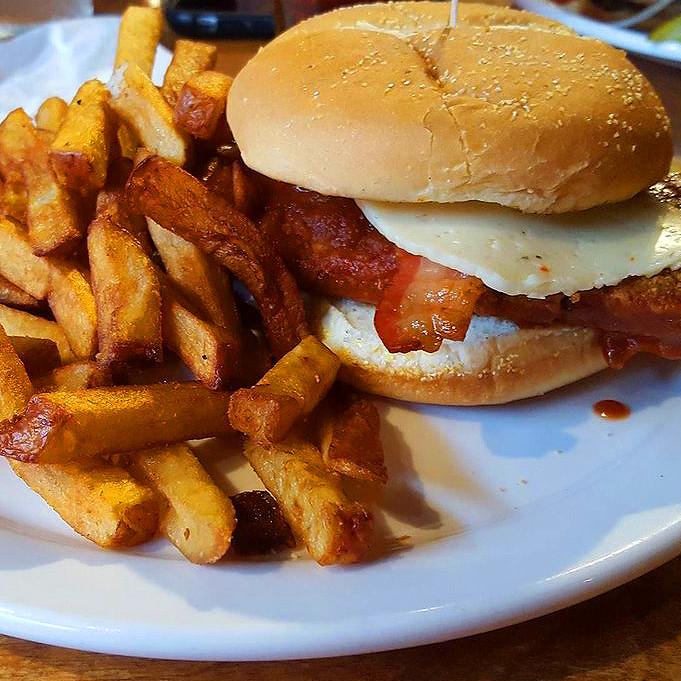 Firestarter Chicken Burger