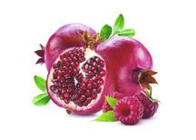 Raspberry Pomegranate Sorbet