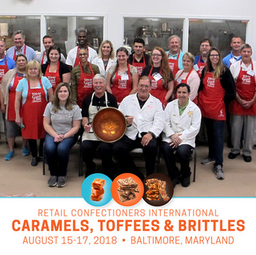 Goji's Graduates from RCI's Caramels, Toffees & Brittles