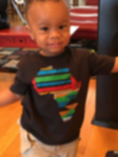 Black Live Matter African print t shirt on cute toddler.Black clothing company african american clothing