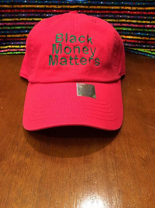 BMM PINK & GREEN DAD HAT
