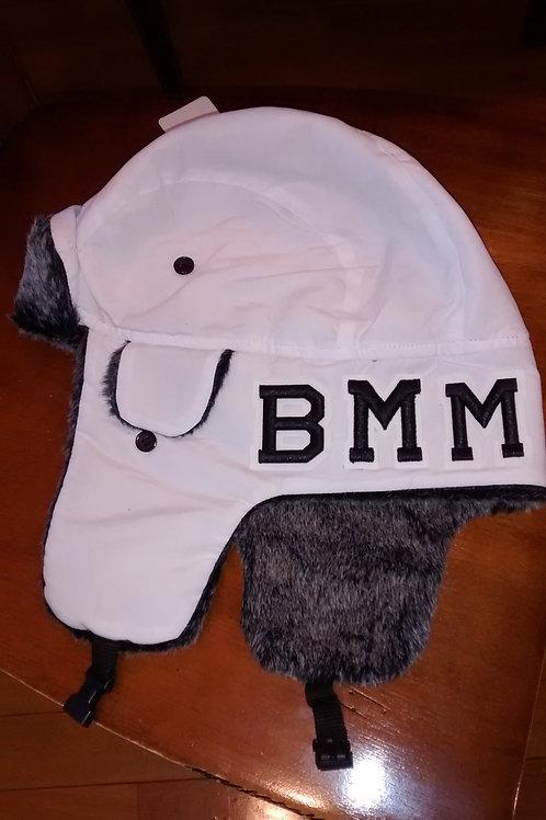 BMM WHITE/BLK TROOPER BOMBER