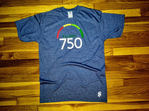 750 Credit Score T Shirt