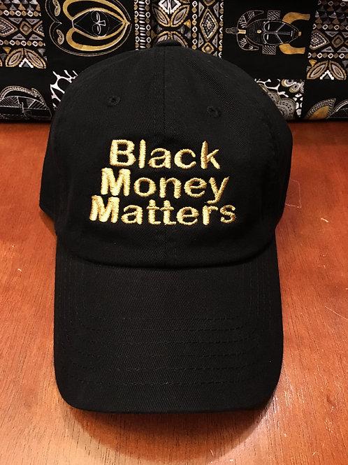 BMM BLK&GOLD DAD HAT