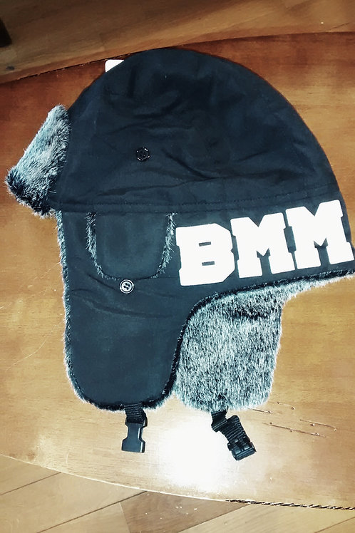 BMM BLK/WHITE TROOPER BOMBER