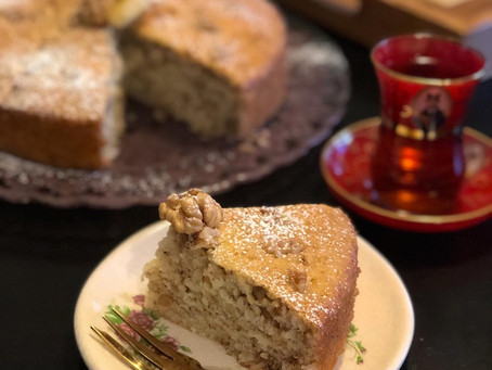 Banana Walnut Heaven Cake