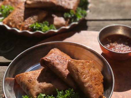 Meat Potato Samosas