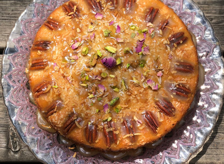Coconut Pistachio Heaven Cake