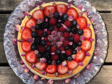 Lemon Berry Cheesecake Gluten Free