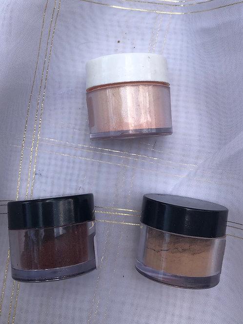 3 Dust Colours Edible