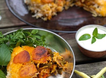 Heavenly Vegetarian Rice