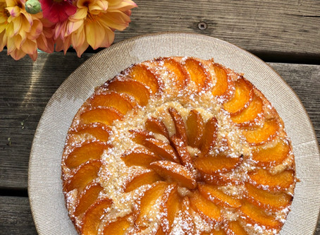 Heavenly Apricot Cake