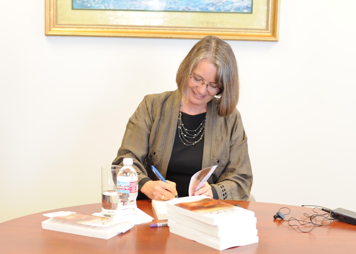 2008 Book signing, San Francisco