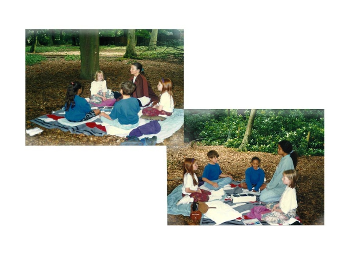 1989-92 Teaching meditation