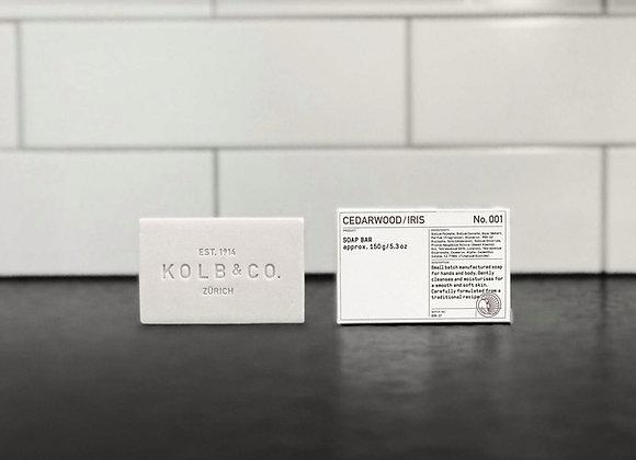 Cedarwood / Iris Soap Bar No.001