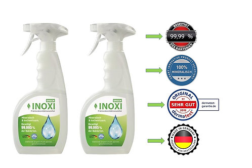 INOXI GREEN 2x 750ml Sprüh-FLächendesinfektion DoppelPack