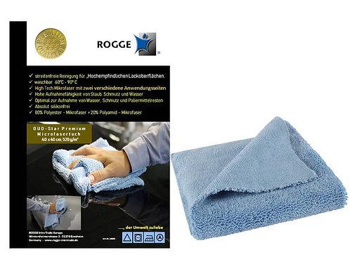 NEU !! ROGGE KFZ DUO-Star Premium Microfasertuch.
