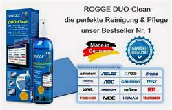 ROGGE DUO-Clean Original, 250ml Screen Cleaner inkl. 1 Prof. Microfasertuch