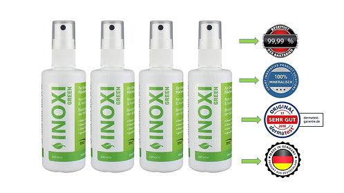 INOXI GREEN 100ml FLächendesinfektion 4er Set