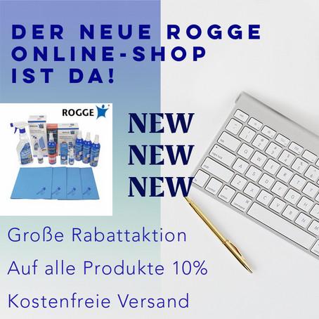 Der neue ROGGE-Shop.de ist Online